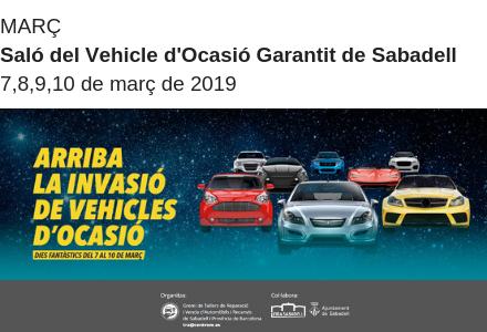 Saló del vehicle d'ocasió Garantit de Sabadell